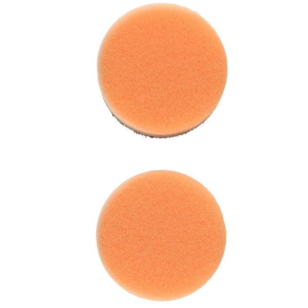 Flex Polierschwamm PS-O 40 mittel orange ideal für PXE 80 (2 Stück) 40mm