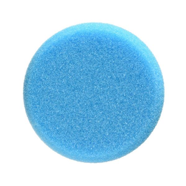 Detail Passion Polierschwamm Auftragpad Puck blau medium 50mm Ø 85mm