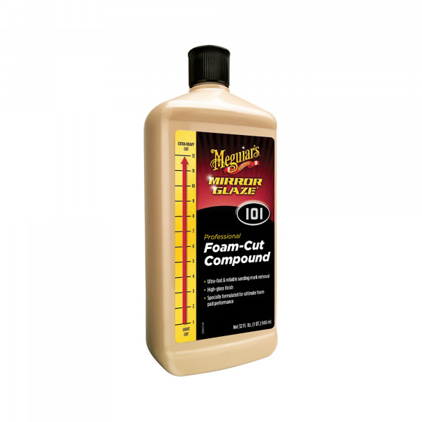 Meguiars Mirror Glaze M101 Foam-Cut Compound mittlere Lackpolitur 945ml