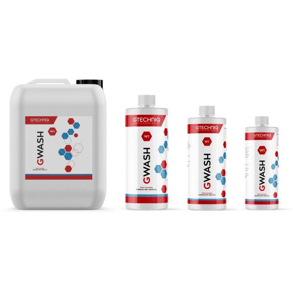 Gtechniq GWash Autoshampoo ideal für Keramikversiegelungen 250ml - Übersicht