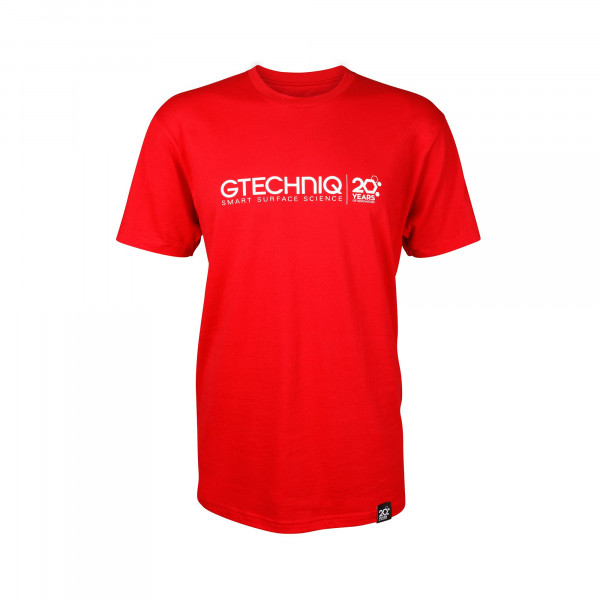 Gtechniq Red 20th Anniversary T-Shirt Größe XXL