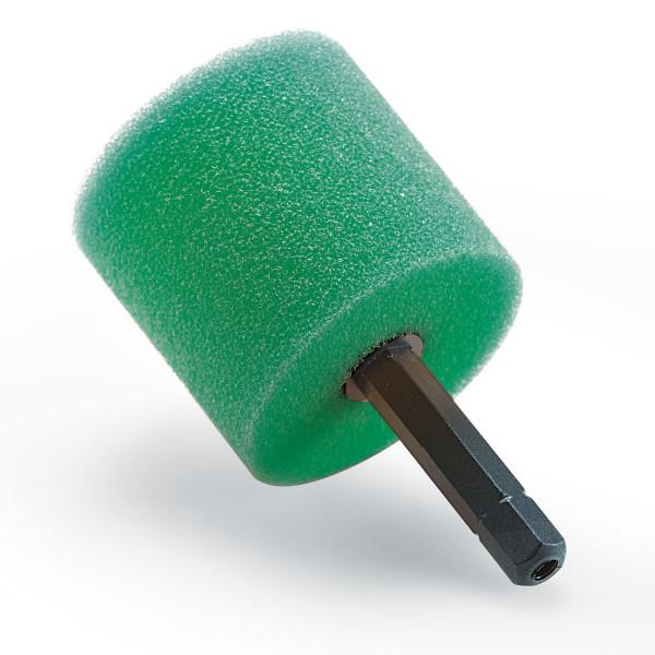 Flex Polierschwamm Polierzylinder hart 1/4 Hex Bit Aufnahme