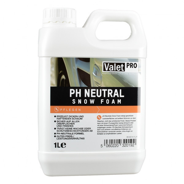 ValetPRO ph Neutral Snow Foam Schaumreiniger Vorreiniger 1L
