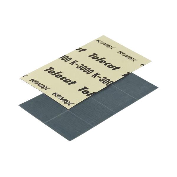 KOVAX Tolecut Aufklebe-Streifen 29 x 35mm schwarz K3000 8er Bogen