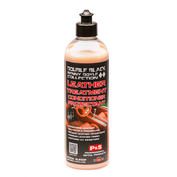 P&S Leather Treatment Double Black, 473ml