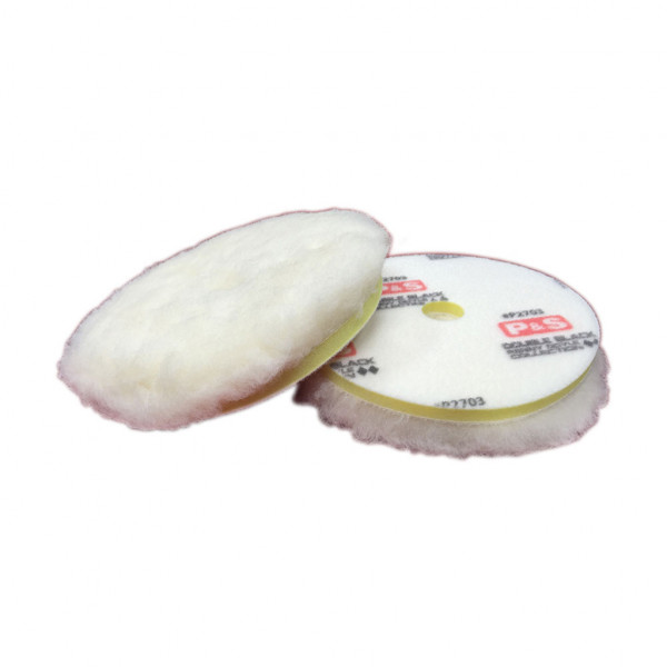 P&S High Action HD Soft Wool Correction Pad White 6 inch 150mm