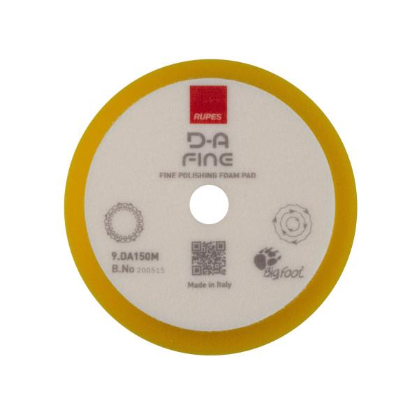 Rupes Polierschwamm DA Medium gelb Ø 130/150mm