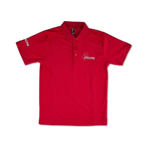 Gtechniq Red Technical Polo Shirt Größe XL