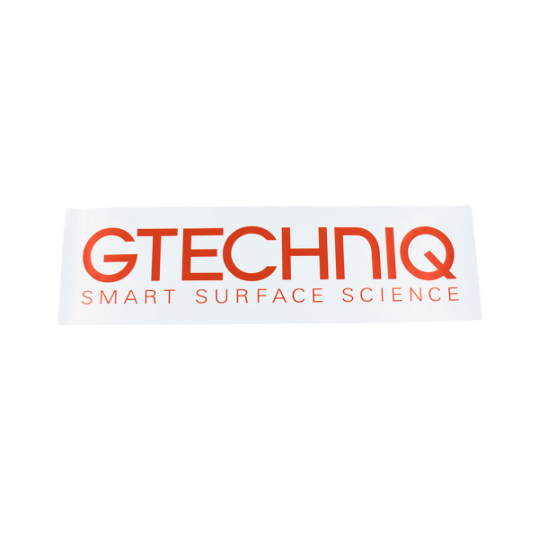 Gtechniq Polyproplene Sticker 243 x 70mm