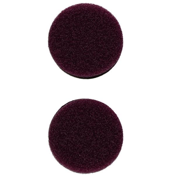 Flex Polierschwamm PS-V 40 mittelhart lila ideal für PXE 80 (2 Stück) 40mm