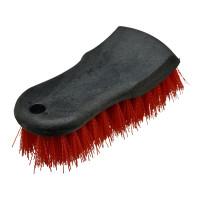 Braun Automotive Teppich- und Polsterbürste rot