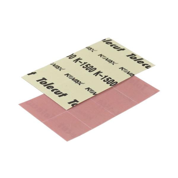 KOVAX Tolecut Aufklebe-Streifen 29 x 35mm rosa P1500 8er Bogen