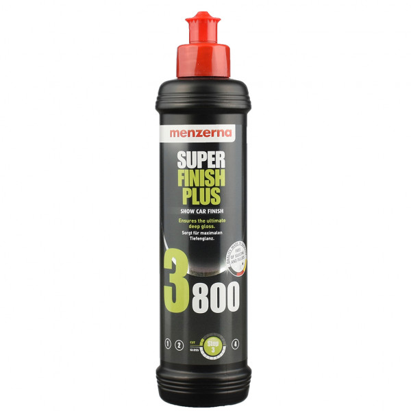 Menzerna Super Finish Plus SFP3800 Antihologramm Politur 250 ml