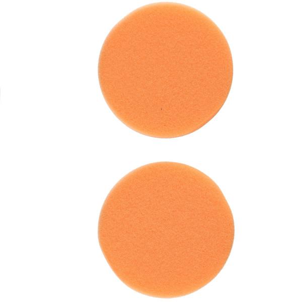 Flex Polierschwamm PS-O 80 mittel orange ideal für PXE 80 (2 Stück) 75/80mm