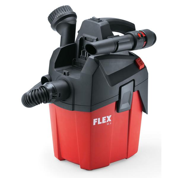 Flex Akku Sauger Staubsauger VC 6 L MC 18.0 für Auto, Boot, Haushalt, Handwerk