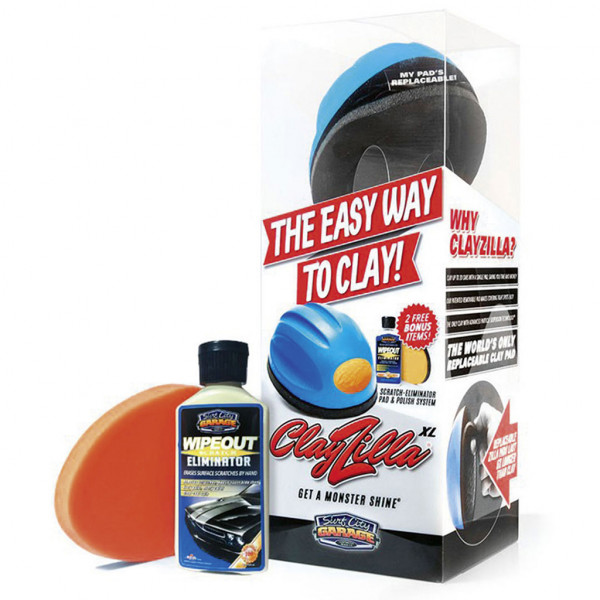 Surf City Garage ClayZilla XL System inkl. WipeOut Pad und Politur