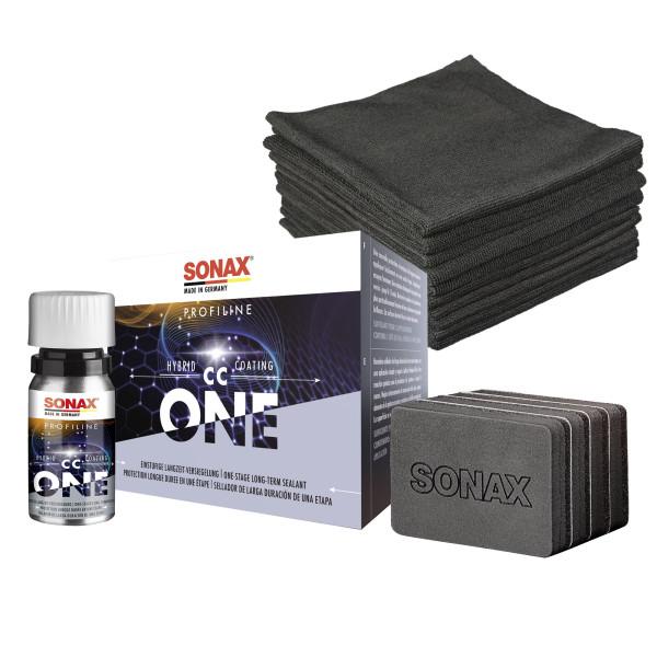 Sonax PROFILINE Keramikversiegelung CC One Set inkl. 10 Poliertüchern 50ml