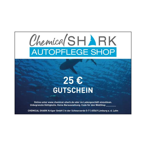 Geschenk-Gutschein Chemical-Shark.de 25 EURO
