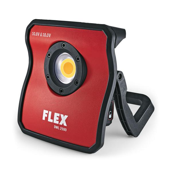 Flex Akku Lampe Lackleuchte DWL 2500 Akku-Betrieb 10.8V und 18V iOS & Android
