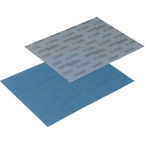 KOVAX Buflex Dry Aufklebe-Streifen 170 x 130mm blau P2500 mittig perforiert