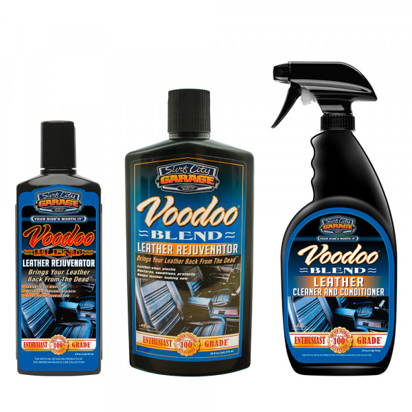 Surf City Garage Voodoo Blend Leather Rejuvenator Lederreiniger und Lederpflege