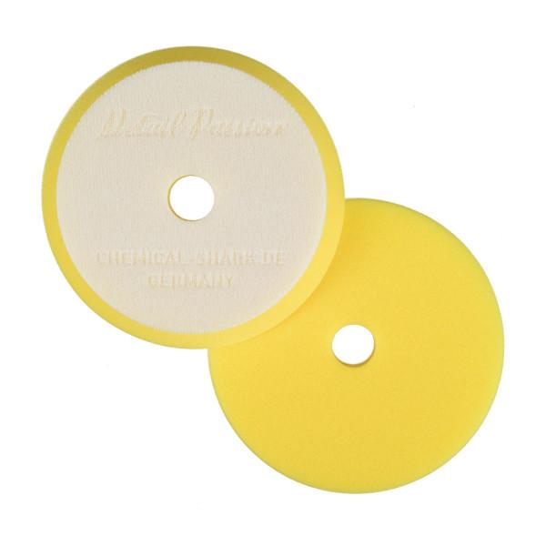 Detail Passion Polierpad Polierschwamm gelb mittelhart exzentrisch 25mm Ø 125/150mm