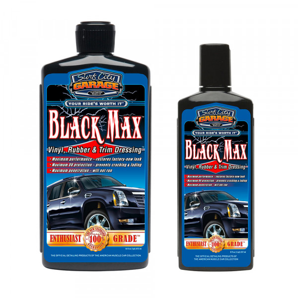 Surf City Garage Black Max Vinyl, Rubber & Trim Dressing