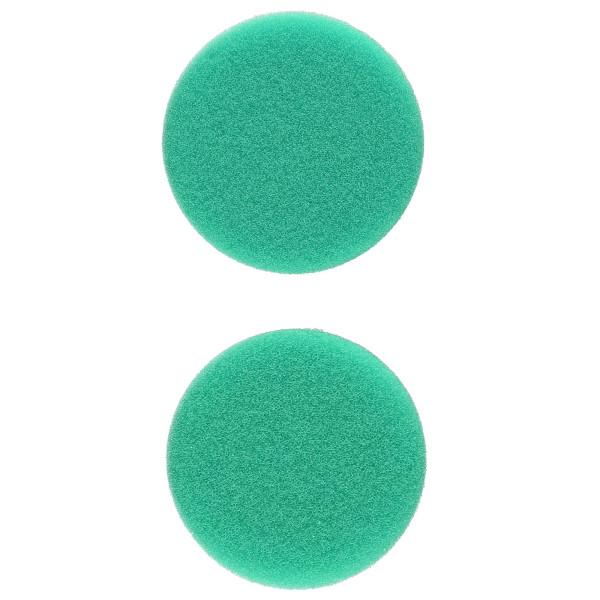 Flex Polierschwamm PSX-G 60 hart grün ideal für PXE 80 (2 Stück) 40/60mm