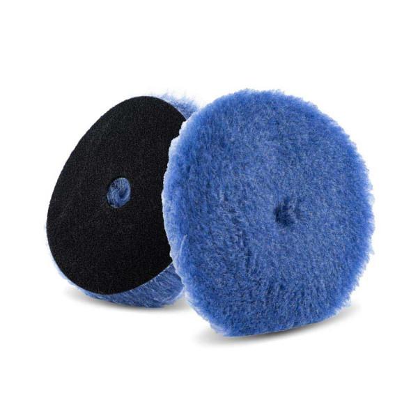 Lake Country Polierpad 150mm Blue Foamed Wool Hybrid 25mm Ø 150mm