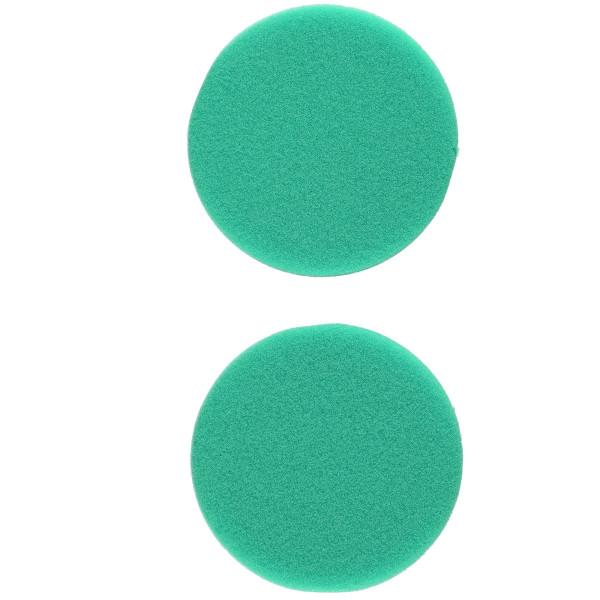 Flex Polierschwamm PSX-G 80 hart grün ideal für PXE 80 (2 Stück) 75/80mm