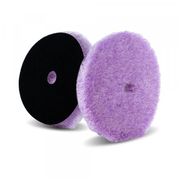 Lake Country Purple Foamed Wool Hybrid-Polierpad 19mm Ø 165mm