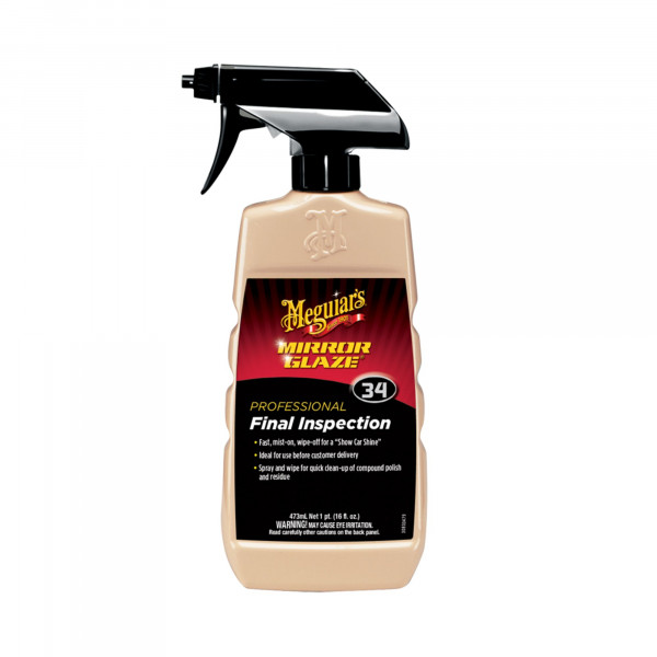 Meguiars Mirror Glaze Final Inspection Detailer 473ml