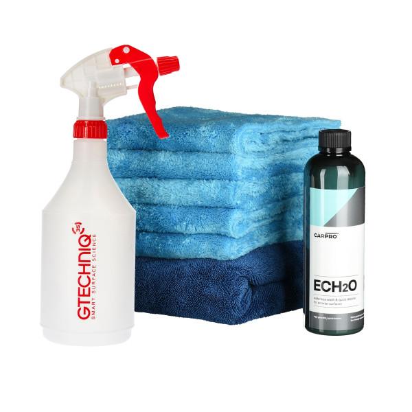 Waschset für Rinseless Wash CarPro Ech2O - Waschen ohne Abspülen