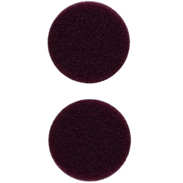 Flex Polierschwamm PS-V 60 mittelhart lila ideal für PXE 80 (2 Stück) 40/60mm