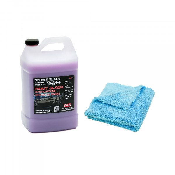 P&S Paint Gloss Lackreiniger Detailer 3,78L inkl. Detail Passion Mikrofasertuch