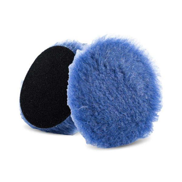 Lake Country Polierpad 75mm Blue Foamed Wool Hybrid 25mm Ø 75mm