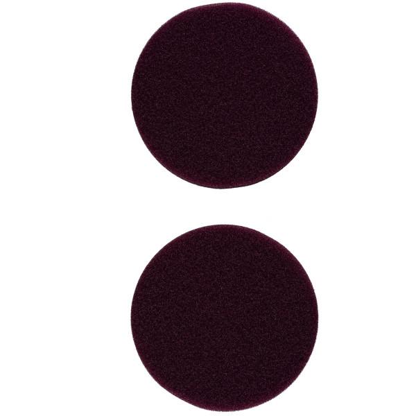 Flex Polierschwamm PS-V 80 mittelhart lila ideal für PXE 80 (2 Stück) 75/80mm
